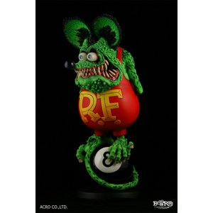 ソフビ製塗装済完成品 RAT FINK (8Ball Edition)|dunk-store|02