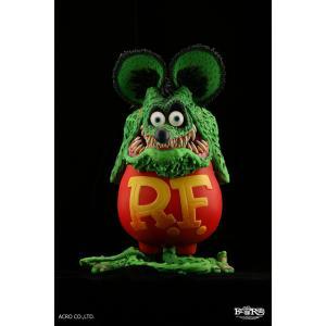ソフビ製塗装済完成品 RAT FINK (Standard Edition)|dunk-store