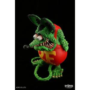 ソフビ製塗装済完成品 RAT FINK (Standard Edition)|dunk-store|04