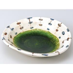 和食器 向こう付け/ 手描きすだれ織部おでん皿 /業務用 懐石料理 会席 向付|duralex