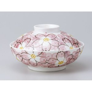 和食器 蓋物/ ラスター華々蓋向 /陶器 煮物 料亭 割烹 碗 業務用|duralex