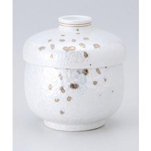 茶碗蒸し 陶器/ 金吹雪むし碗 /蒸し碗 ちゃわんむし碗 業務用|duralex