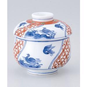 茶碗蒸し 陶器/ 万暦むし碗 /蒸し碗 ちゃわんむし碗 業務用|duralex