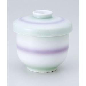 茶碗蒸し 陶器/ 並形蒸碗(中)二色吹 /蒸し碗 ちゃわんむし碗 業務用|duralex