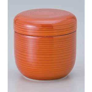 茶碗蒸し 陶器/ 赤巻夏目型むし碗 /蒸し碗 ちゃわんむし碗 業務用|duralex