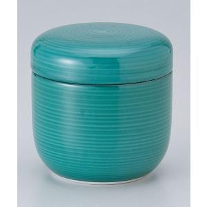 茶碗蒸し 陶器/ グリーン巻夏目型むし碗 /蒸し碗 ちゃわんむし碗 業務用|duralex