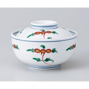 和食器 蓋物/ 錦宝来円菓子碗 /陶器 煮物 料亭 割烹 碗 業務用|duralex