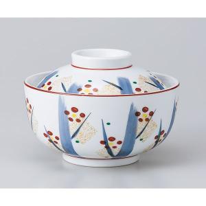 和食器 蓋物/ 手描き紅梅円菓子碗 /陶器 煮物 料亭 割烹 碗 業務用|duralex