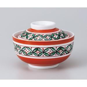 和食器 蓋物/ 赤絵七宝円菓子碗 /陶器 煮物 料亭 割烹 碗 業務用|duralex