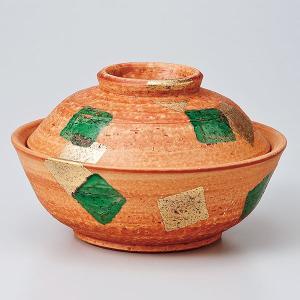 和食器 蓋物/ 金緑彩蓋向 /陶器 煮物 料亭 割烹 碗 業務用|duralex