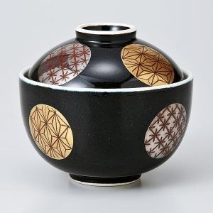 和食器 蓋物/ 黒マット円菓子碗 /陶器 煮物 料亭 割烹 碗 業務用 duralex