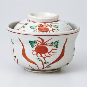 和食器 蓋物/ 赤絵万歴円菓子碗 /陶器 煮物 料亭 割烹 碗 業務用 duralex