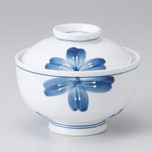 和食器 蓋物/ 一珍青花円菓子碗 /陶器 煮物 料亭 割烹 碗 業務用 duralex
