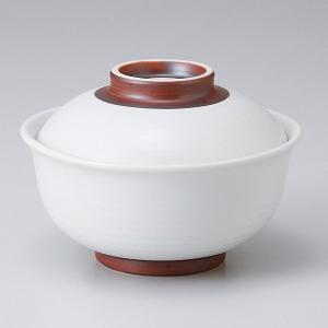 和食器 蓋物/ 白化粧 反り型円菓子碗 /陶器 煮物 料亭 割烹 碗 業務用 duralex