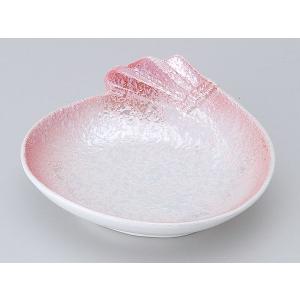 陶器 松花堂 小鉢 小皿/ ピンクラスター袋型松花堂 /弁当 小鉢 豆皿 幕の内 業務用|duralex