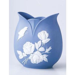 【ラッピング無料】 お中元/ カメオバラ花瓶(大) /ギフト 贈り物 プレゼント 敬老の日 新築祝い 引き出物 母の日 父の日|duralex