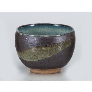 湯呑 いっぷく碗/ いっぷく碗黒銀彩雲 /日本茶 抹茶 お茶を愉しむ 陶器|duralex