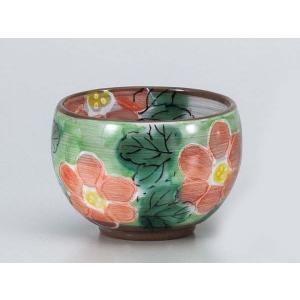 湯呑 いっぷく碗/ マーガレットゆったり碗オレンヂ /日本茶 抹茶 お茶を愉しむ 陶器|duralex