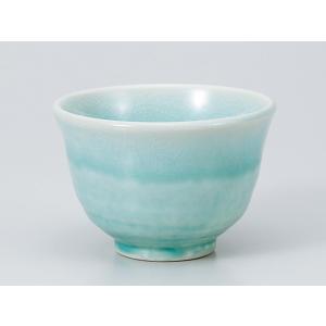 湯呑 いっぷく碗/ あそび碗 ブルー /日本茶 抹茶 お茶を愉しむ 陶器 ポイント消化|duralex