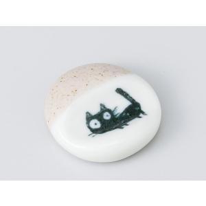 箸置き おしゃれ おもしろ かわいい/ 黒猫 白ハシ置 /箸置 はしおき カトラリーレスト 業務用 ギフト インテリアにも ポイント消化 duralex