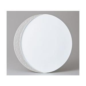 洋食器 モダン プレート/ シルバームーン27cm皿 /丸皿 ラウンドプレート ショープレート 業務用 レストラン 高級 duralex