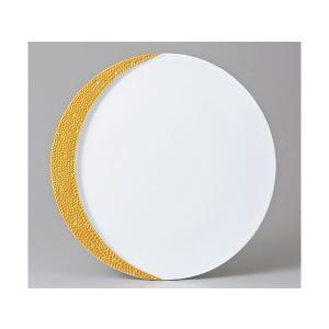 洋食器 モダン プレート/ ゴールドムーン27cm皿 /丸皿 ラウンドプレート ショープレート 業務用 レストラン 高級 duralex