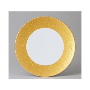 洋食器 モダン プレート/ グラン・ゴールド22cmプレート /丸皿 ラウンドプレート ショープレート 業務用 レストラン 高級|duralex