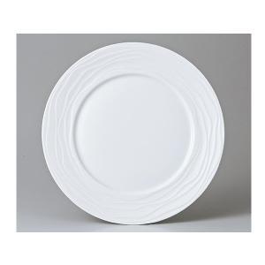 洋食器 モダン プレート/ 白磁WV 27cmディナー /丸皿 ラウンドプレート 業務用 レストラン 高級|duralex