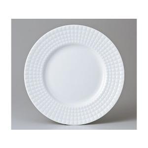 洋食器 モダン プレート/ 白磁KILT 27.5cmディナー /丸皿 ラウンドプレート 業務用 レストラン 高級|duralex