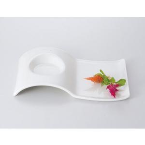 洋食器 カフェ プレート/ NB2ピースウェーブ23cm皿 /おしゃれ 業務用 レストラン 喫茶店 ランチ モーニング|duralex