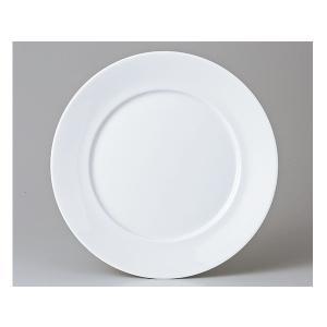 洋食器 モダン プレート/ 白磁 27cmミート皿 /丸皿 ラウンドプレート 業務用 レストラン 高級|duralex