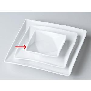 洋食器 モダン 取皿/ FP10cm角皿(白磁) /皿 プレート おしゃれ 業務用 レストラン|duralex