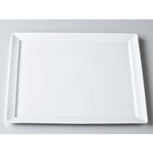 洋食器 モダン プレート/ 白磁ODH30cm正角皿 /前菜 スクエアプレート 業務用 レストラン 高級|duralex