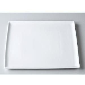 洋食器 モダン プレート/ 25cmフラットメタ /前菜 スクエアプレート 業務用 レストラン 高級|duralex
