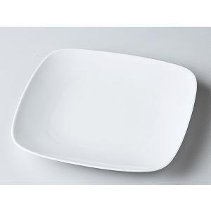 洋食器 モダン 取皿/ 白正角皿7インチ(19cm) /皿 プレート おしゃれ 業務用 レストラン|duralex