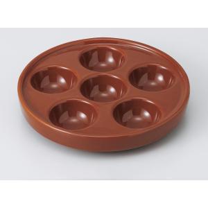 洋食器 オーブン食器/ 茶色エスカルゴ 6穴 /業務用 おしゃれ|duralex