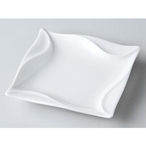 洋食器 モダン 取皿/ サイクロン15cm角皿 /皿 プレート おしゃれ 業務用 レストラン|duralex