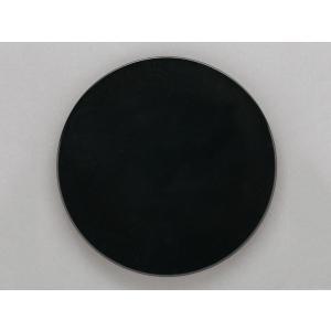 洋食器 モダン プレート/ ノブル23cmプレート黒マット /丸皿 ラウンドプレート 業務用 レストラン 高級|duralex
