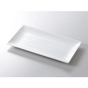 洋食器 モダン 取皿/ SOSO 18長角皿 白 /皿 プレート おしゃれ 業務用 レストラン|duralex