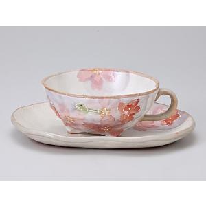 セット 碗 皿/ 春うららカフェオーレコーヒーカップ&ソーサー /業務用 家庭用 おもてなし 人気 花 フラワー 和 カフェ ランチ おしゃれ かわいい インスタ|duralex