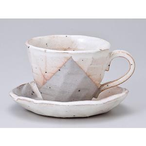 コーヒーカップ ソーサー/ 美濃萩コーヒーカップ&ソーサー /碗皿 業務用 ホテル レストラン おしゃれ|duralex
