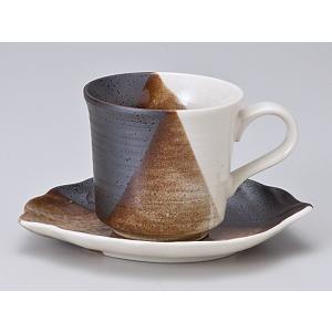 コーヒーカップ ソーサー/ クロス塗分コーヒーカップ&ソーサー /碗皿 業務用 ホテル レストラン おしゃれ|duralex