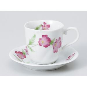 コーヒーカップ ソーサー/ フラワーコーヒー碗皿 /碗皿 業務用 ホテル レストラン おしゃれ|duralex