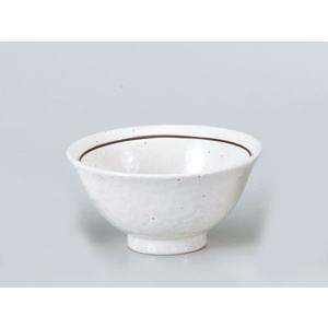 どんぶり スープ碗 ラーメン 中華/ 粉引ライン3.6スープ碗 /チャーハン 業務用 麺丼|duralex