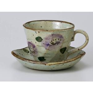 コーヒーカップ ソーサー/ 紫椿コーヒーカップ&ソーサー /碗皿 業務用 ホテル レストラン おしゃれ|duralex