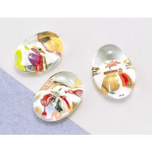 箸置き カトラリーレスト ガラス/ お雛様硝子箸置 /ギフト 贈り物 プレゼント ポイント消化 duralex
