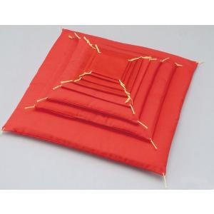 人形用 手作り/ 赤座布団 8.5cm /手造り ポイント消化 duralex