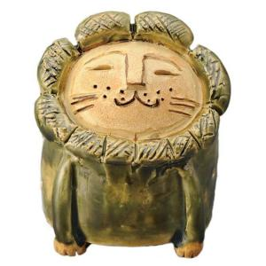 陶器 手造り 香炉 香立て/ ライオン 香立鉢(綾部) /置物 インテリア プレゼント 贈り物|duralex