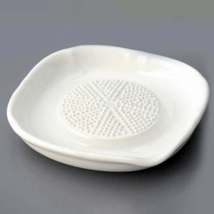 おろし器 シンプル/ 強化セラミック ノンスリップ おろし器(小) /清潔 陶器 duralex
