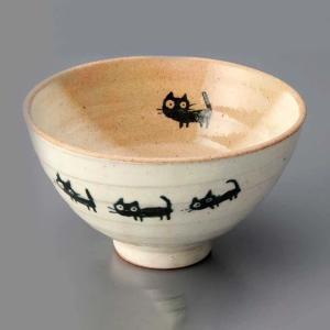 ご飯茶碗 かわいい/ ネコさんぽ 飯碗(小) /飯碗 ライスボール Rice Bowl 猫 ねこ duralex